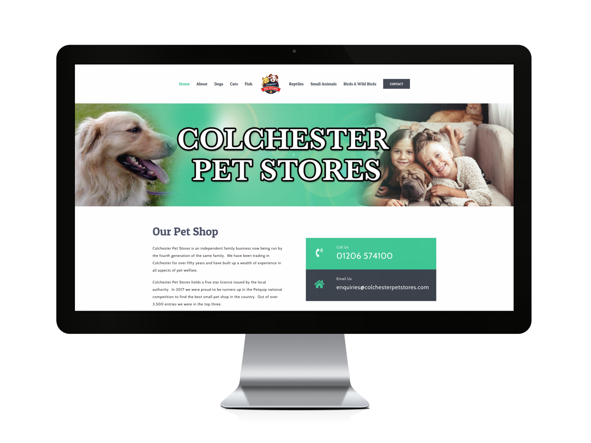 Colchester Pet Stores